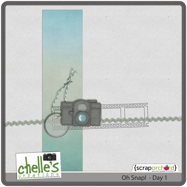 Add some 'snap' to your digi layouts with this series of freebies from Chelle's Creations #free