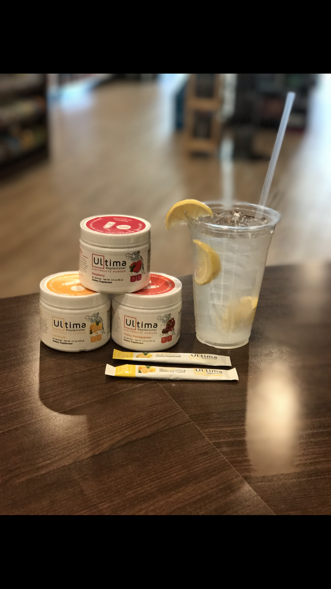 Electrolyte! Super important on a keto diet. Check out my