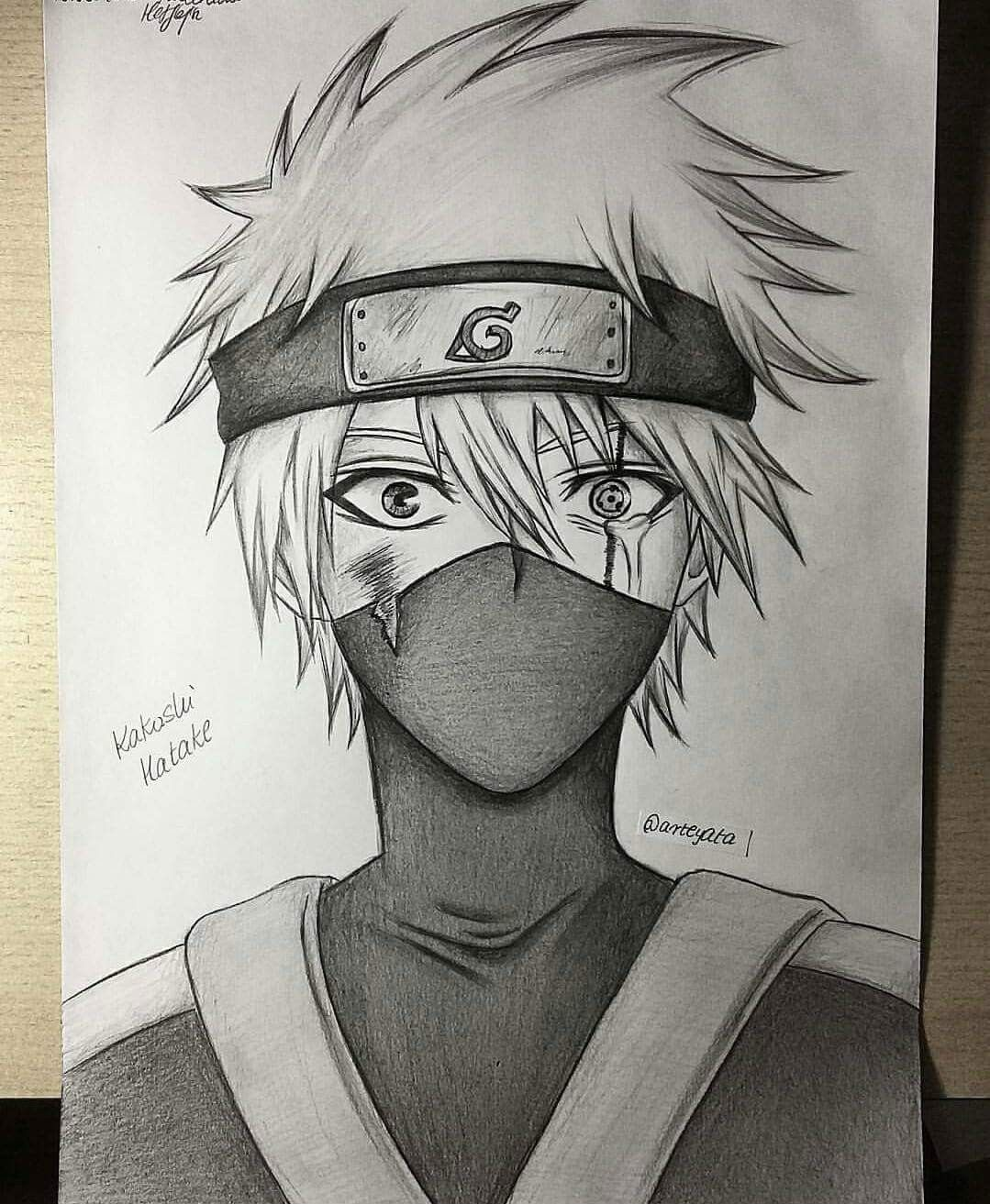 Little Kakashi Hatake Arteyata Drawing Today 15th September Is
