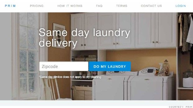 Prim Anatomy Of A Folded Startup Laundry Delivery Start Up