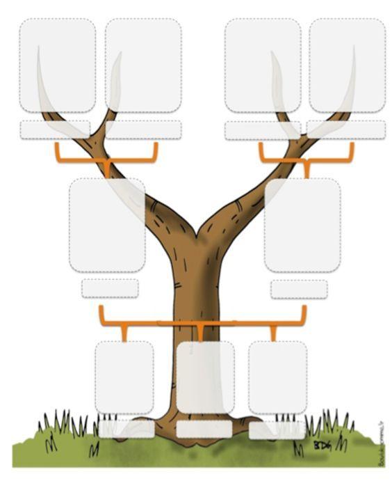 Ddmle temps larbre gnalogique family trees french class and classroom activities family tree printable saigontimesfo