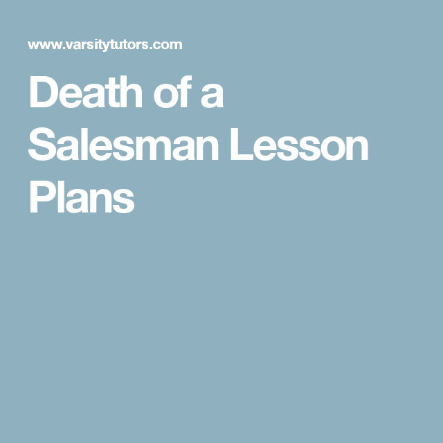 death of a salesman essay plan Thesis statement / essay topic #4: death of a salesman and betrayal betrayal is a thread that ties together much of the plot in arthur miller's death of a salesman  willy loman feels personally betrayed by his son biff's inability to succeed in life, despite what willy sees as loving encouragement.