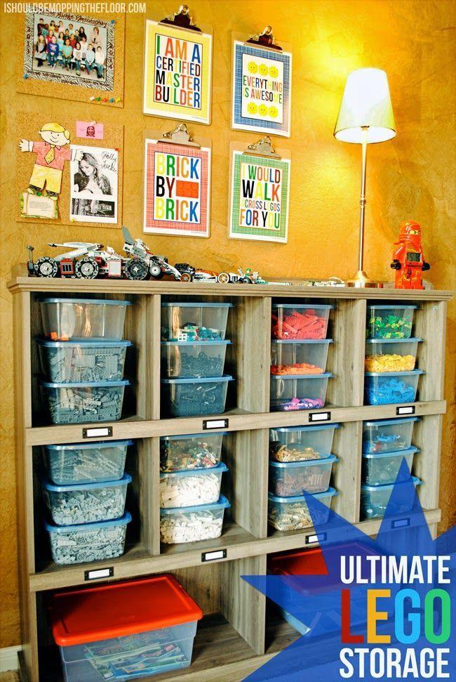 Ultimate Lego Storage. Ideas For Boys BedroomsBoys Room ...