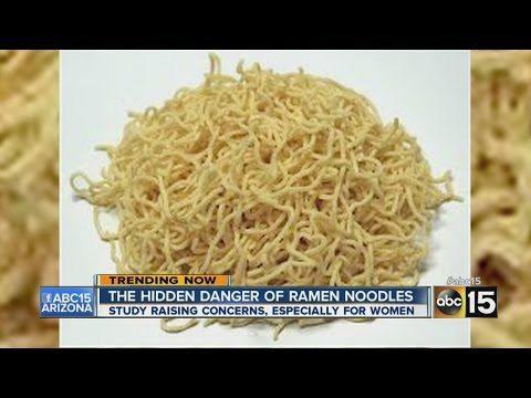 The Hidden Danger Of Ramen Noodles Youtube Nutrition Recipes