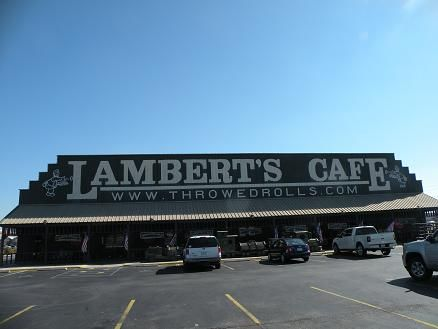 Lamberts Cafe Home Of The Throwed Rolls We Went Here Yesterday On