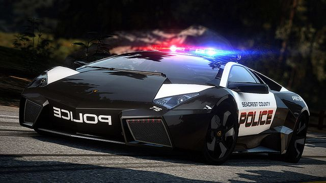Lamborghini Reventón Police Interceptor. No doubt the best reason to be a cop in Seacrest County