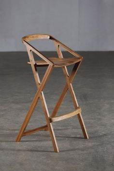 Lovely Black Folding Bar Stool