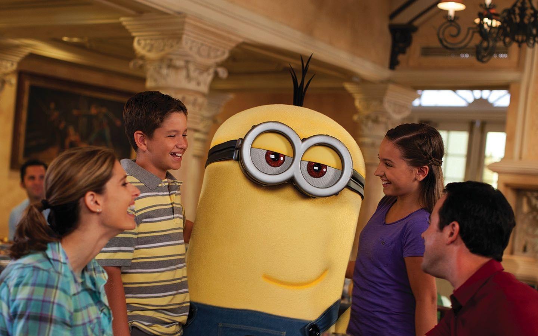 Minion Character Superstar Breakfast Universal Orlando Resort