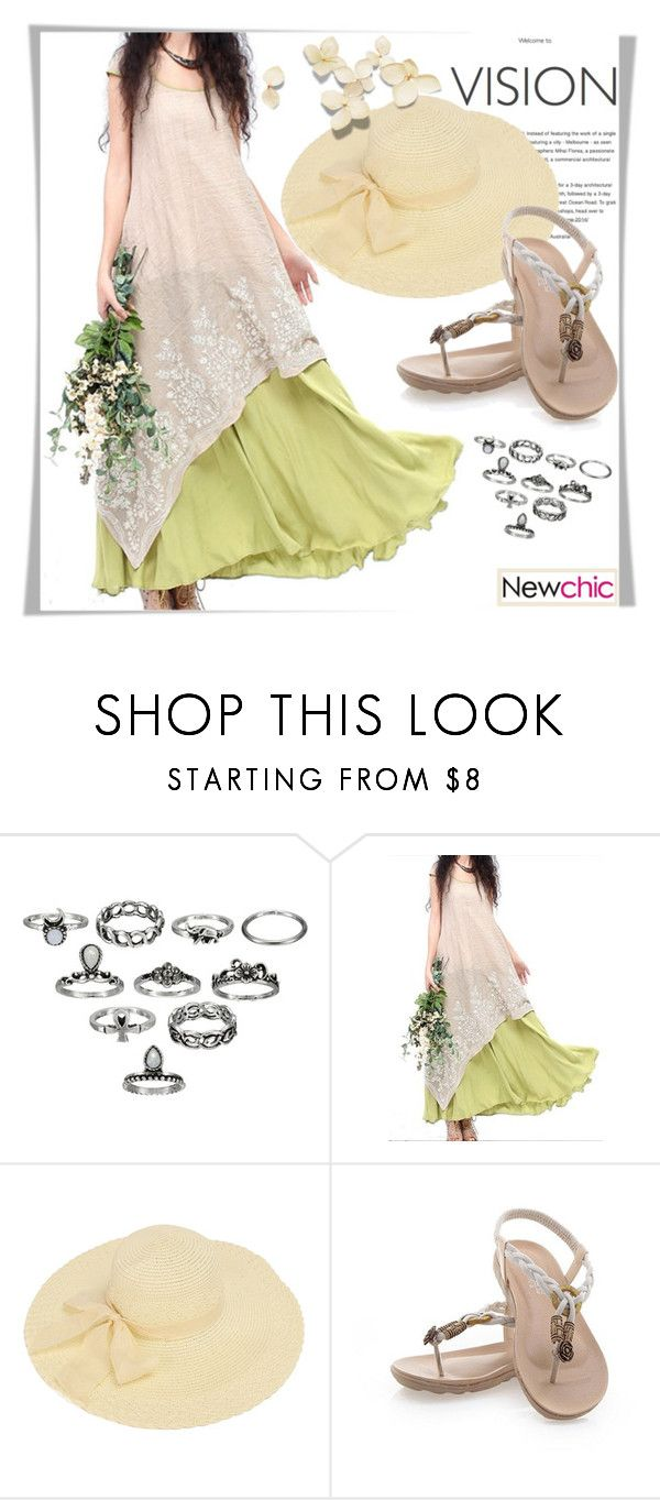 """Newchic"" by melissa995 ❤ liked on Polyvore"