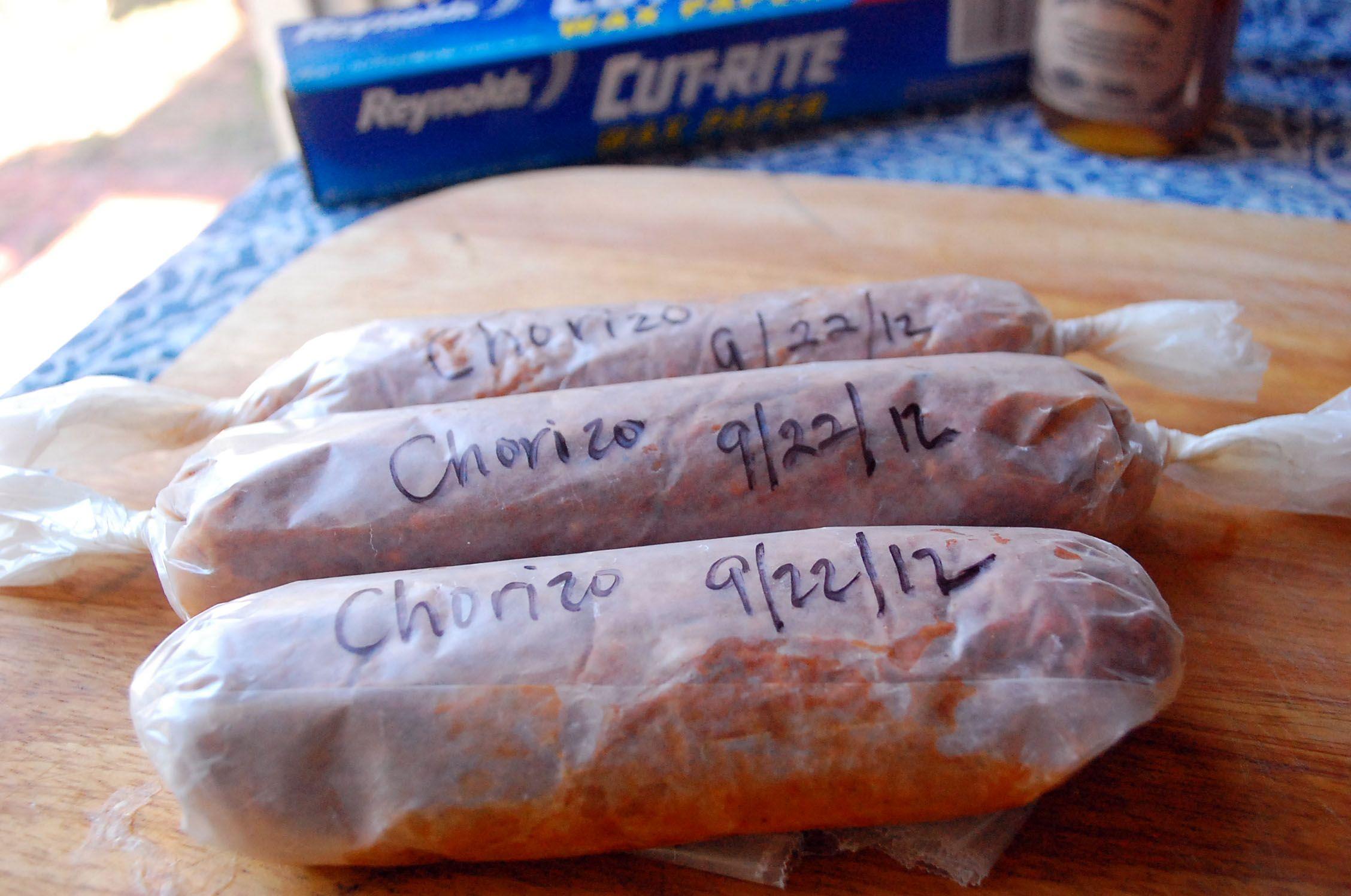 En nog een chorizo recept... nu moet ik wel ;-)