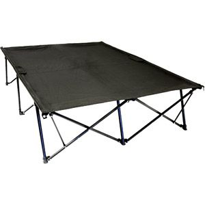 double cot better than an air mattress feather bed topper added