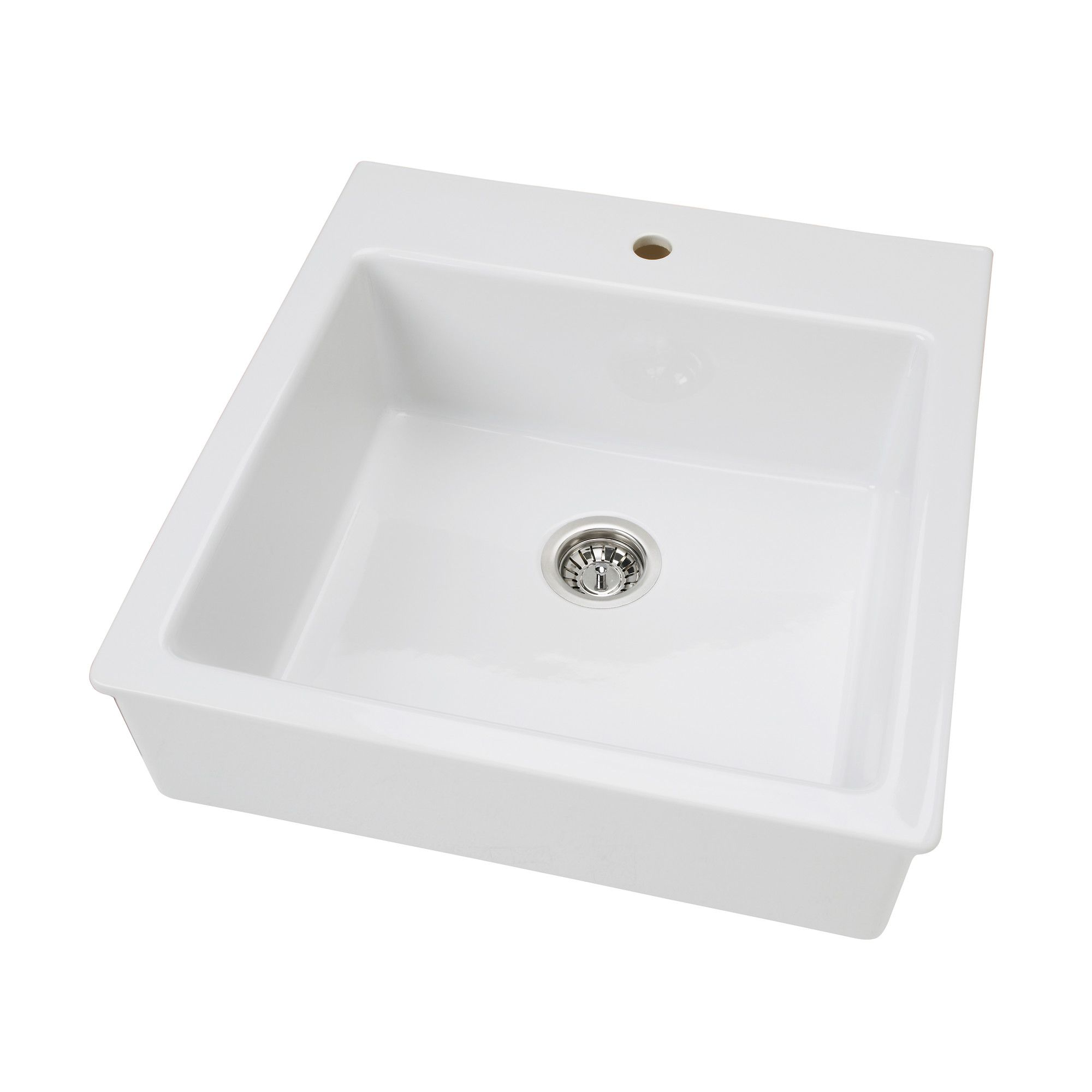 White apron front sink ikea - Ikea Domsj Sink Bowl 25 Year Limited Warranty Read About The