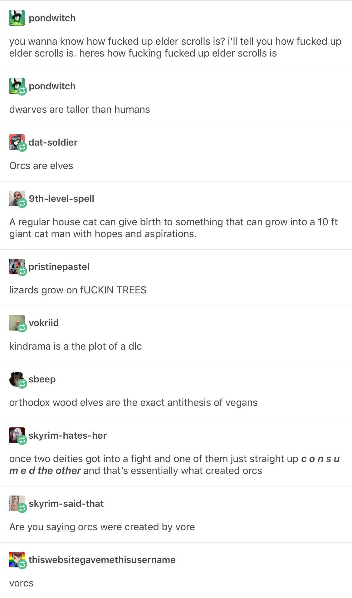 How fucked up is Elder Scrolls ESO