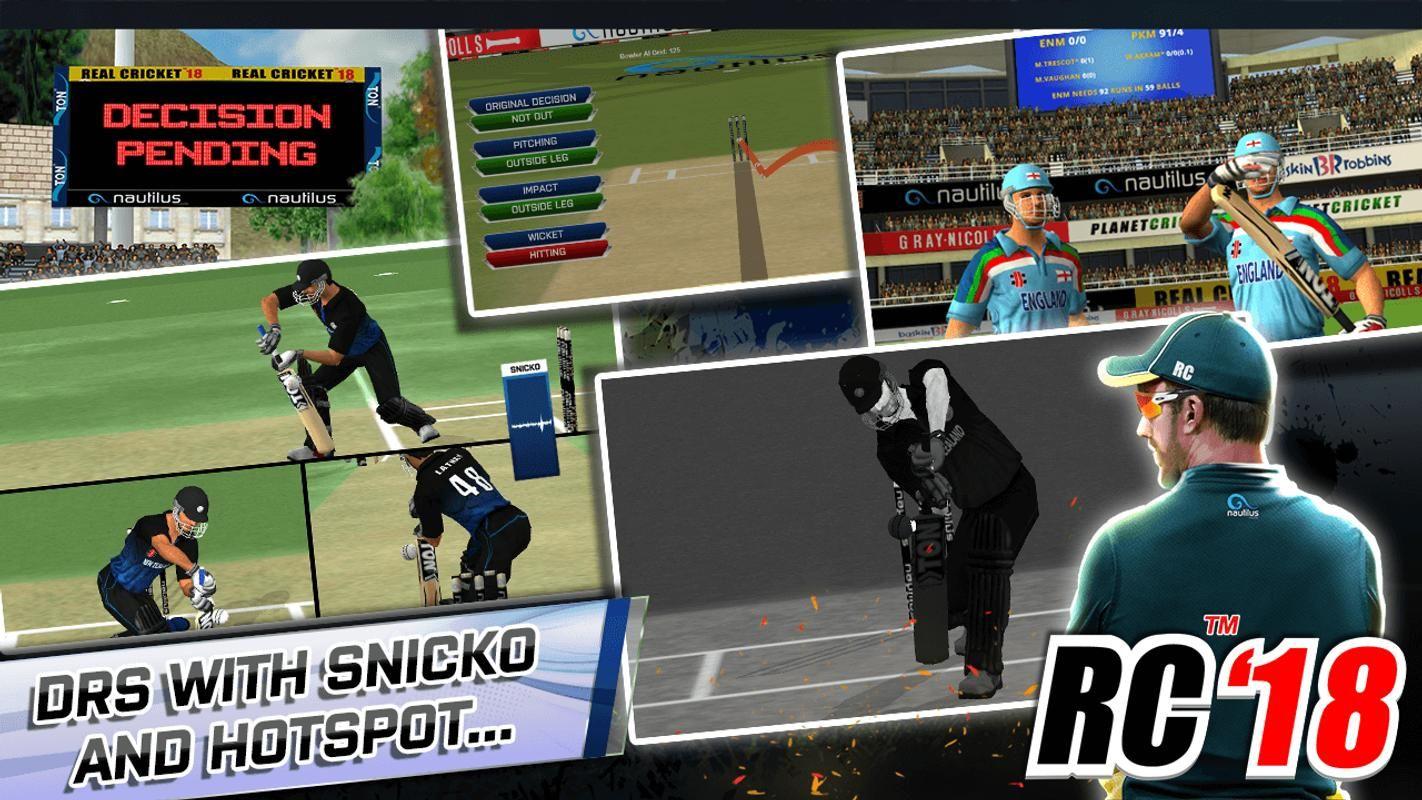 Pin On Real Cricket 18 Hack Generator