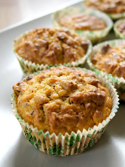 Little Tiger: Möhren-Muffins à la Posthase