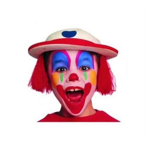 maquillage clown sans blanc. Black Bedroom Furniture Sets. Home Design Ideas