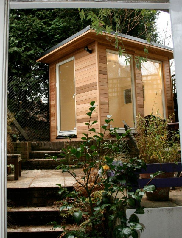 tiny backyard home office. Compact Garden Office Pod. Tiny Backyard HouseBackyard Home