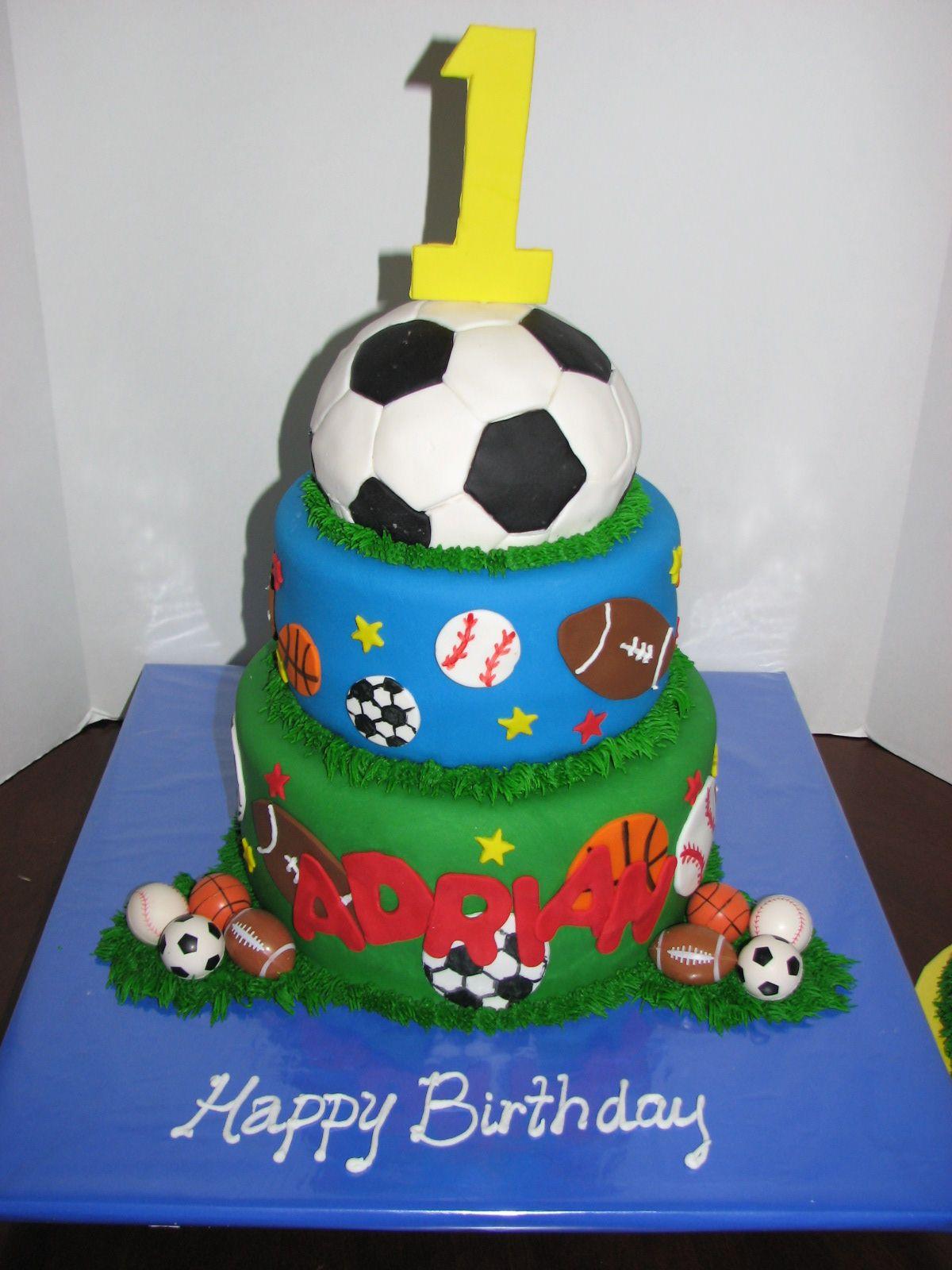 birthday cakes for boys with easy recipes sports cake cake by jennifer leonard cakesdecor sports cake sports cakes for birthdays cleveland dayton wedding