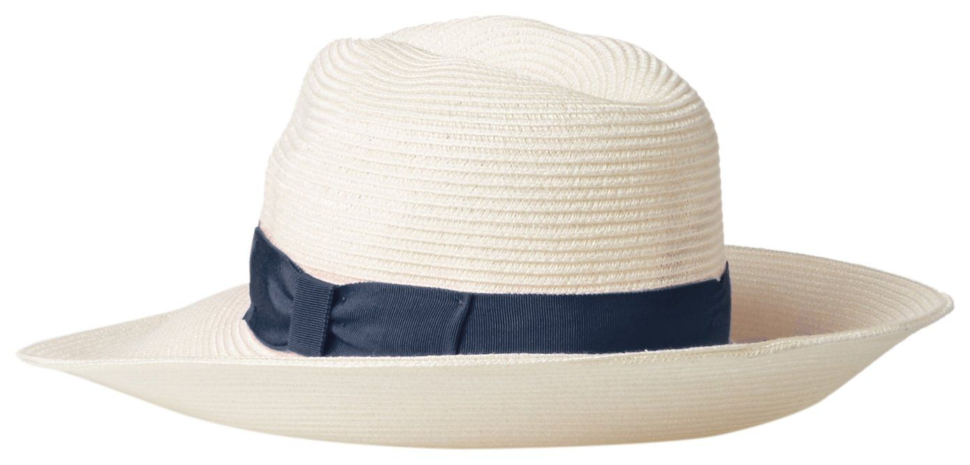Gottex Women S Alhambra Lightweight Packable Fedora Sun Hat Rated White Navy One Size At Amazon Women S Clothing Store Sun Hats Gottex Fedora