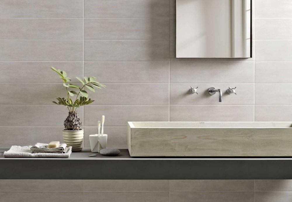 Marazzi Bagni Moderni Beautiful Progetto Di Un Bagno Con La Serie Concreta Ceramica Marazzi