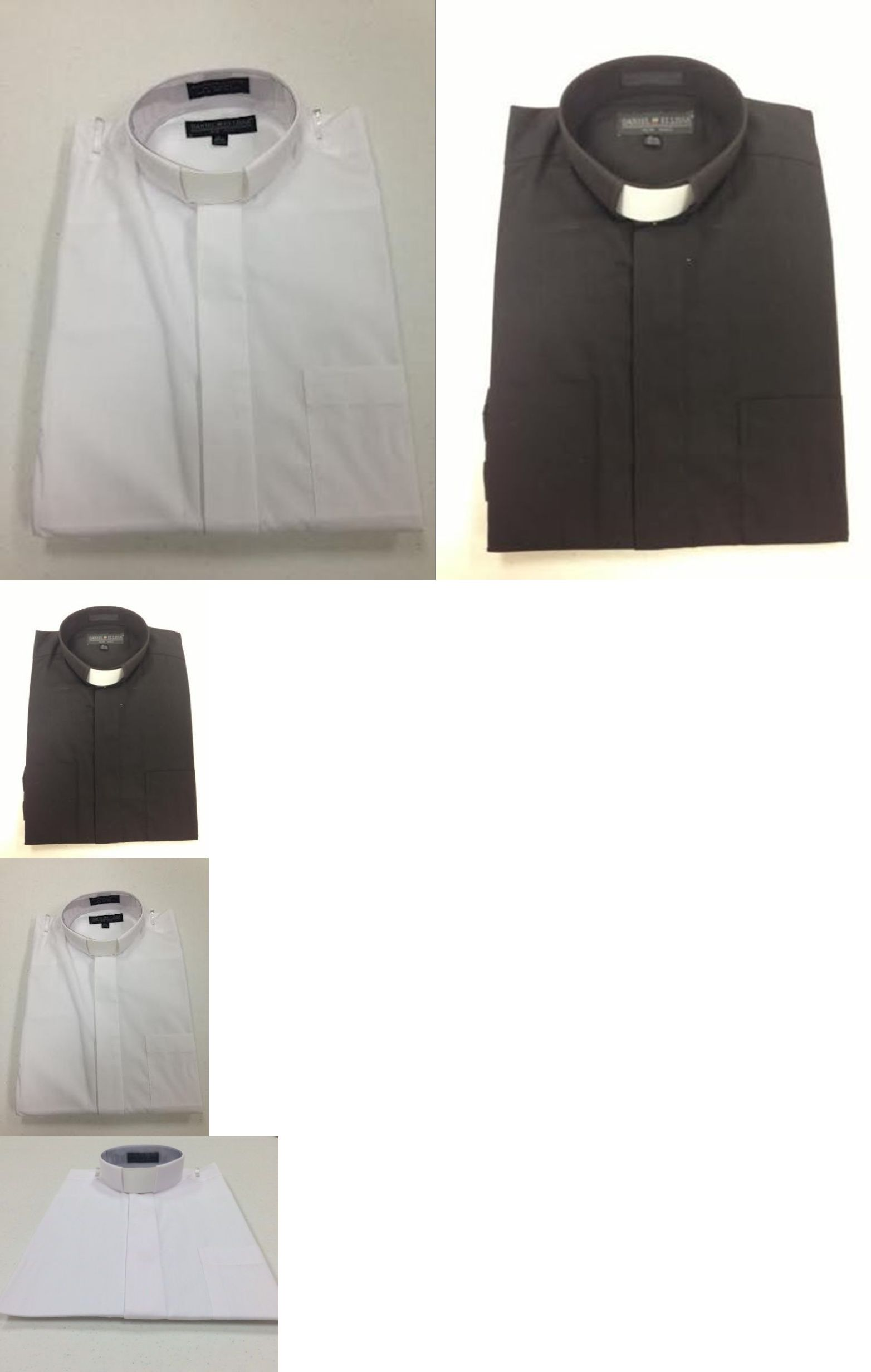 Dress Shirts 57991 Every Size Mens Clerical Clergy Preacher