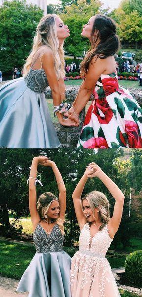 Short grey blue homecoming dress, 2019 short prom dress #homecomingdressesshort