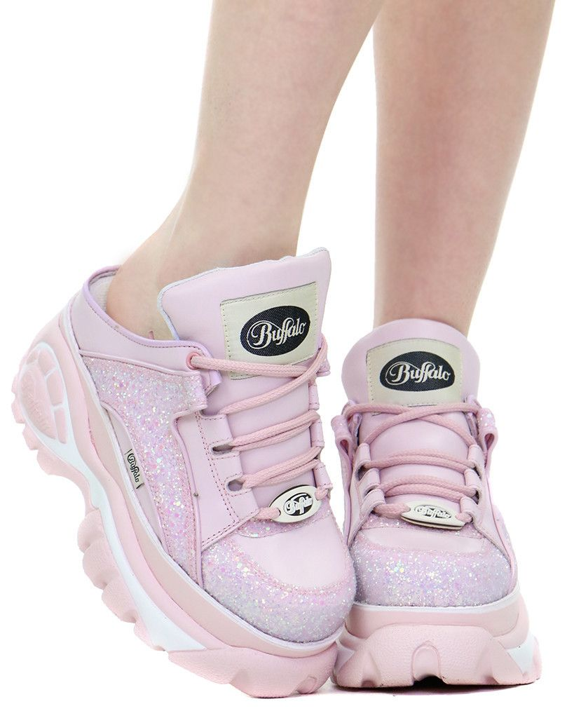 PINK GLITTER BACKLESS CYBER SNEAKER   Fashion- Clothes, Shoes ... 103ec10f75