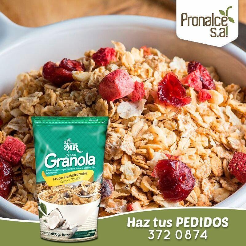 Cereales en una dieta balanceada
