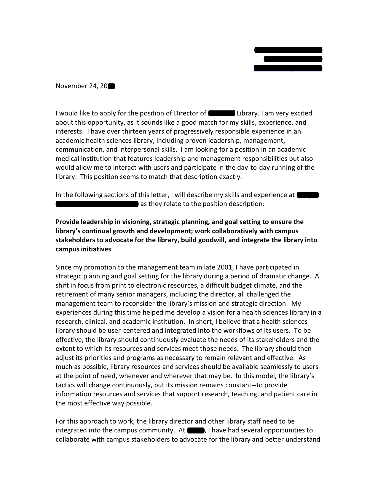 Special Duty Assignment Pay Finance cover letter template for