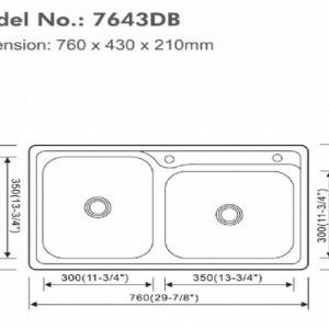 Standard Size For Double Bowl Kitchen Sink