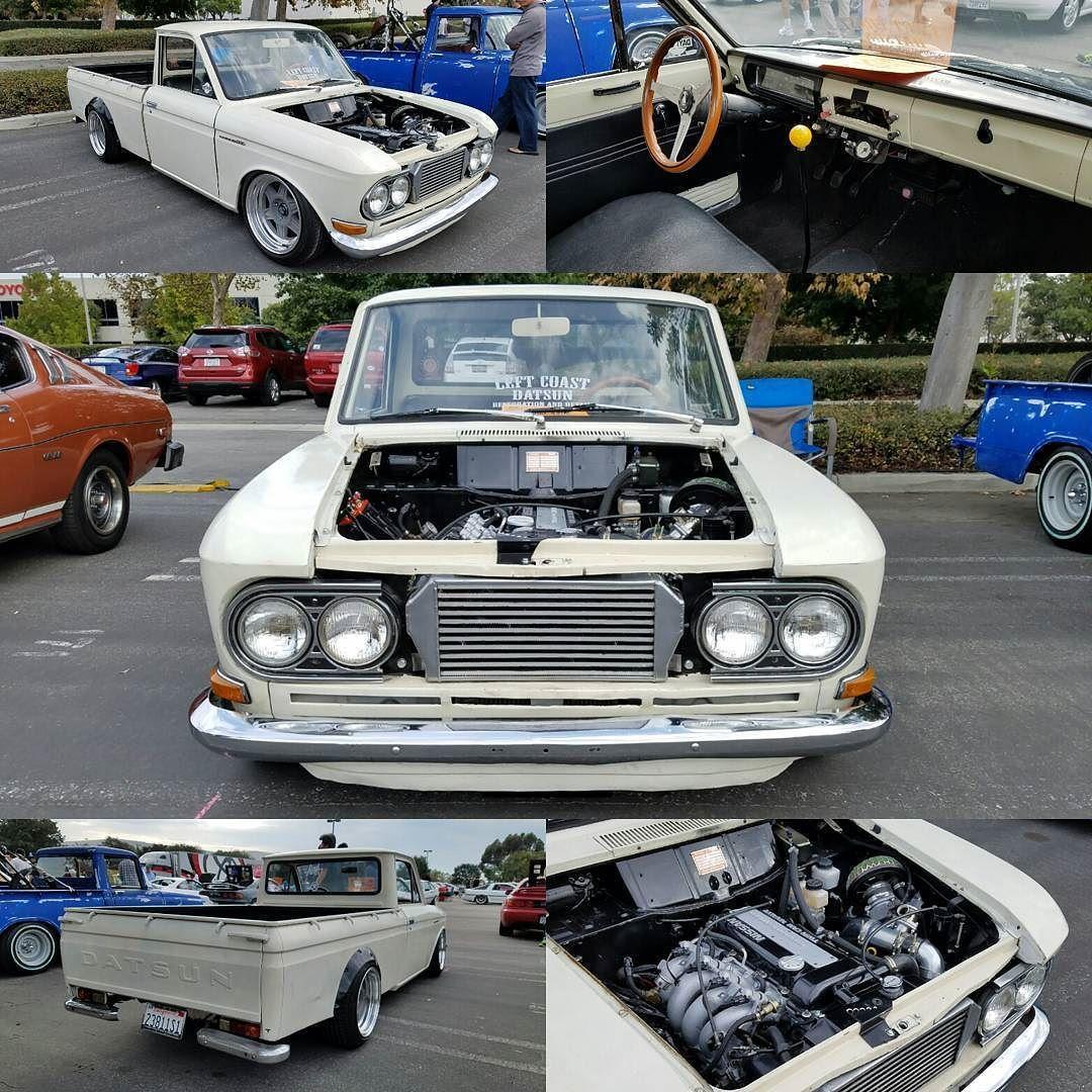 1968 Datsun 520 with SR20DET swap #Datsun #520 #Datsun520