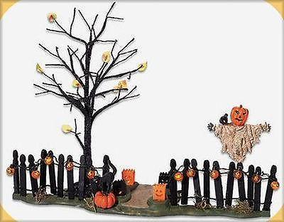 Spooky Yard Scene New Halloween Department Dept 56 Snow Village SV | eBay