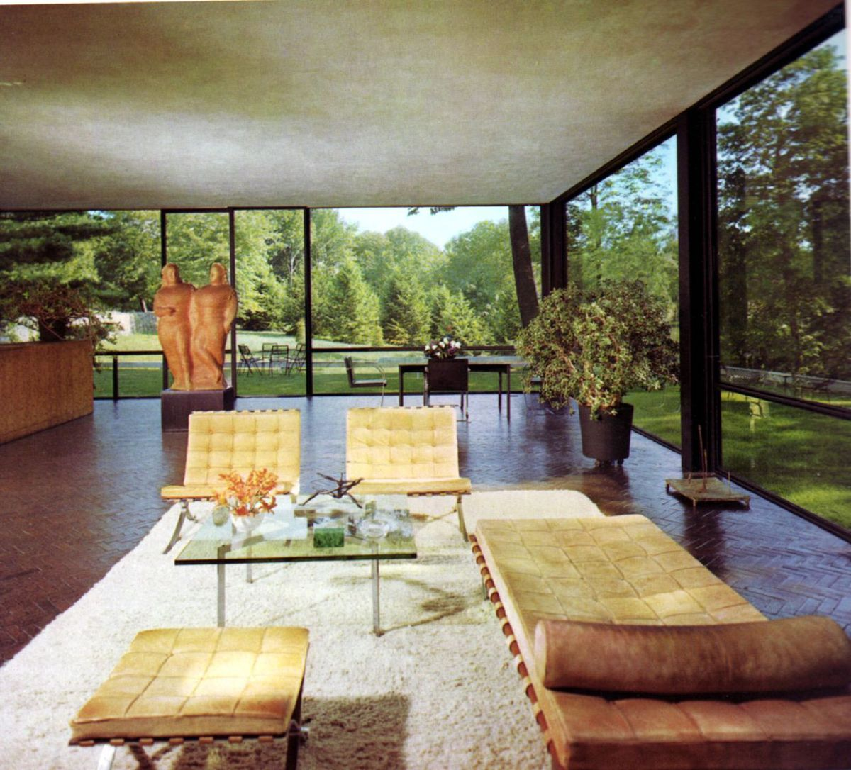 Glass House, Philip Johnson, 1949