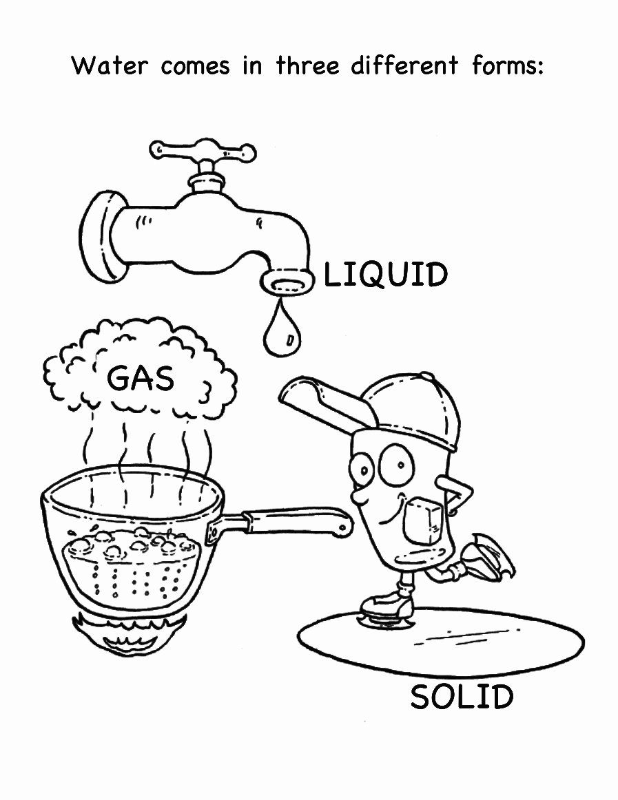 Water Cycle Coloring Page New Condensation Water Cycle Coloring Page Coloring Pages In 2020 Color Activities Cycle Drawing Water Cycle