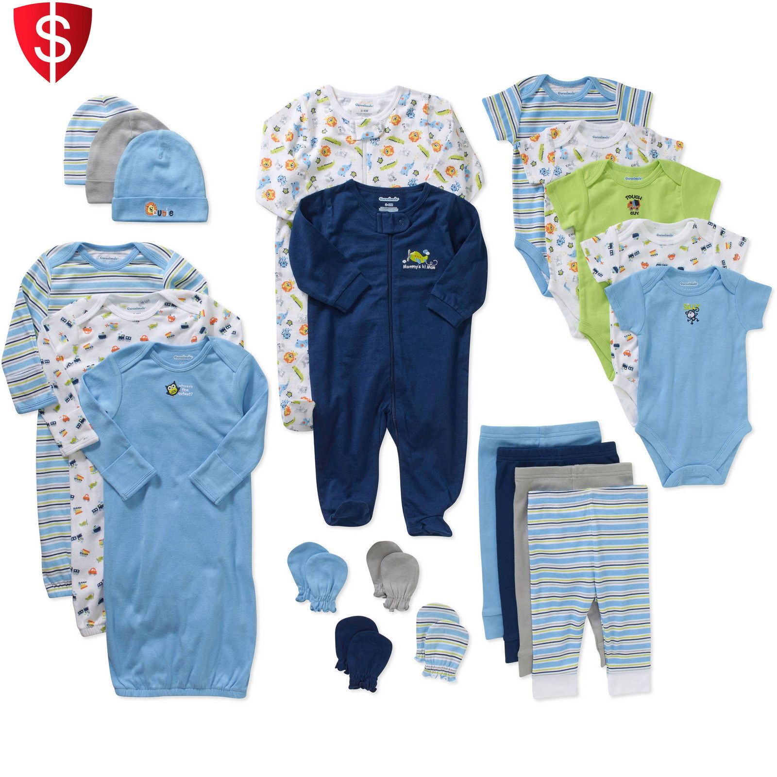 Nice Baby Boy Clothes Lot Infant Shower Outfits Newborn Clothing 0 3