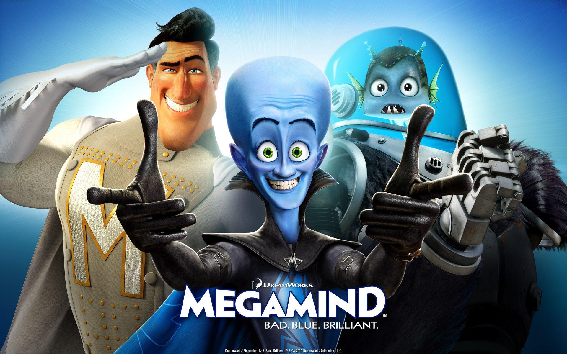 Megamind Megamind 2010 Movie Movie Wallpapers Megamind Movie Animated Movies