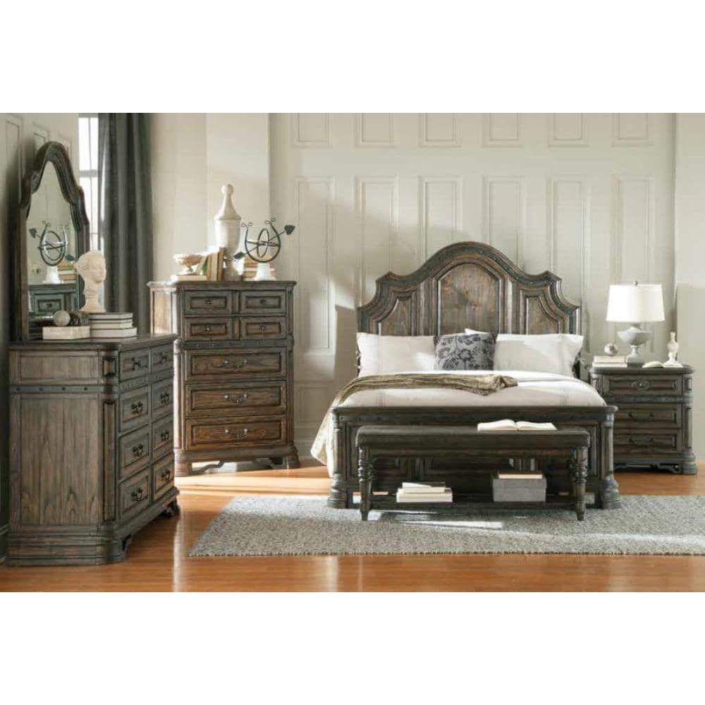 Armada 7 Piece Dark Brown Bedroom Furniture Set Overstock Com Shopping The Best Deals On Bedroom Sets With Images Bedroom Furniture Sets King Bedroom Sets Bedroom Sets