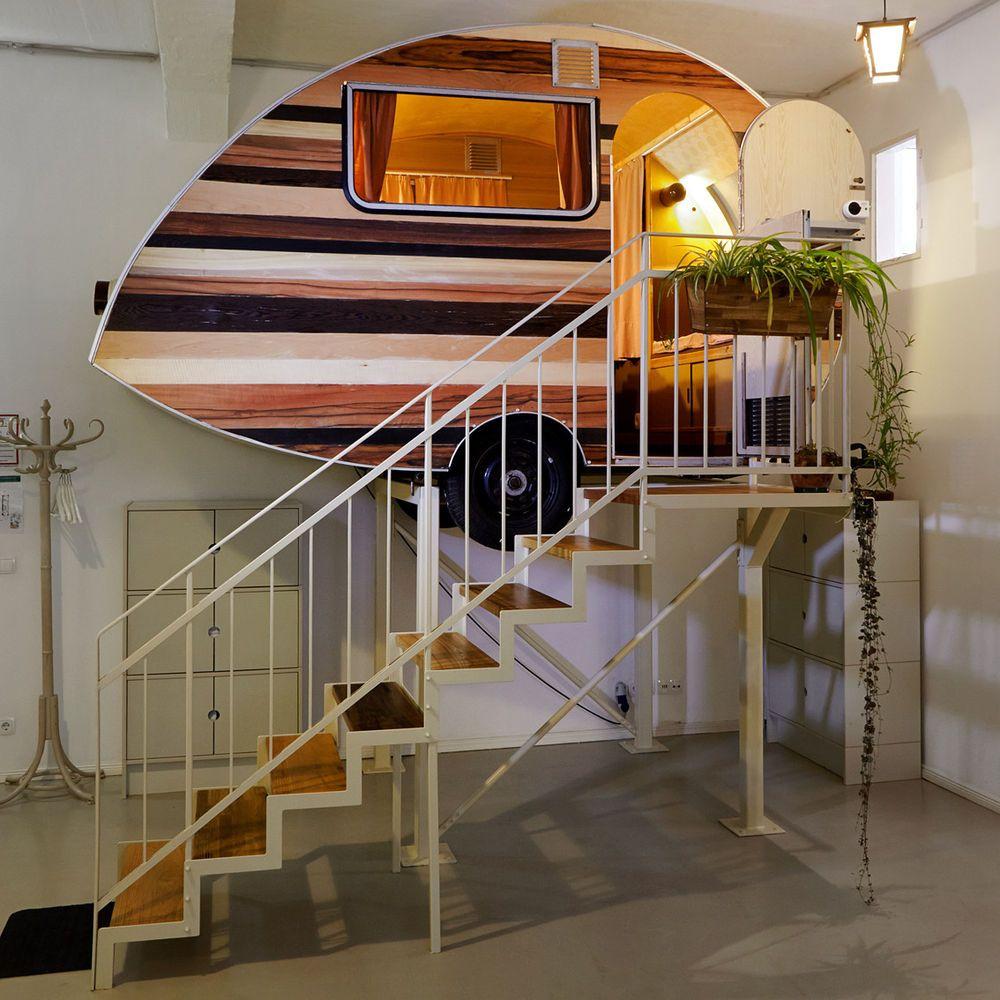 indoor-caravanning in Germany