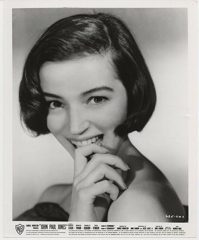 Marisa Pavan In John Paul Jones 1959 Cine Famosos Artistas