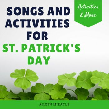 St Patricks Day Music Songs And Activities For March Bounce