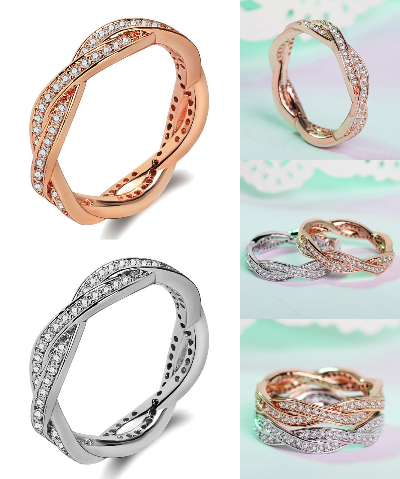 Visit to Buy] America Fashion Jewelry Wholesale Female Stainless
