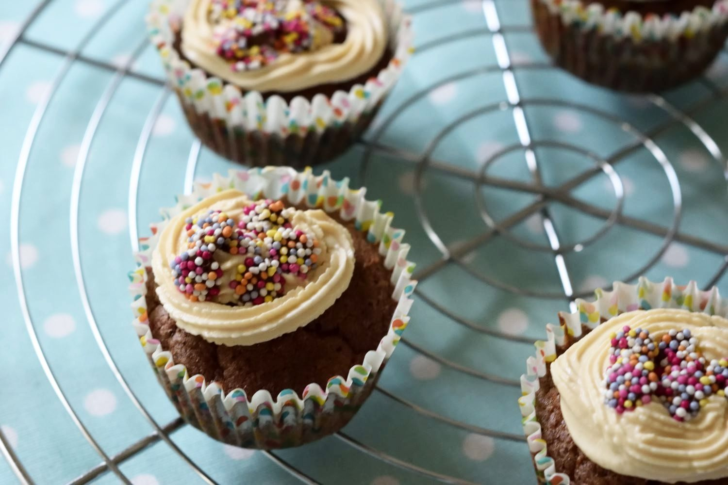 Low-Syn Chocolate Confetti Cupcakes (3 syns each)