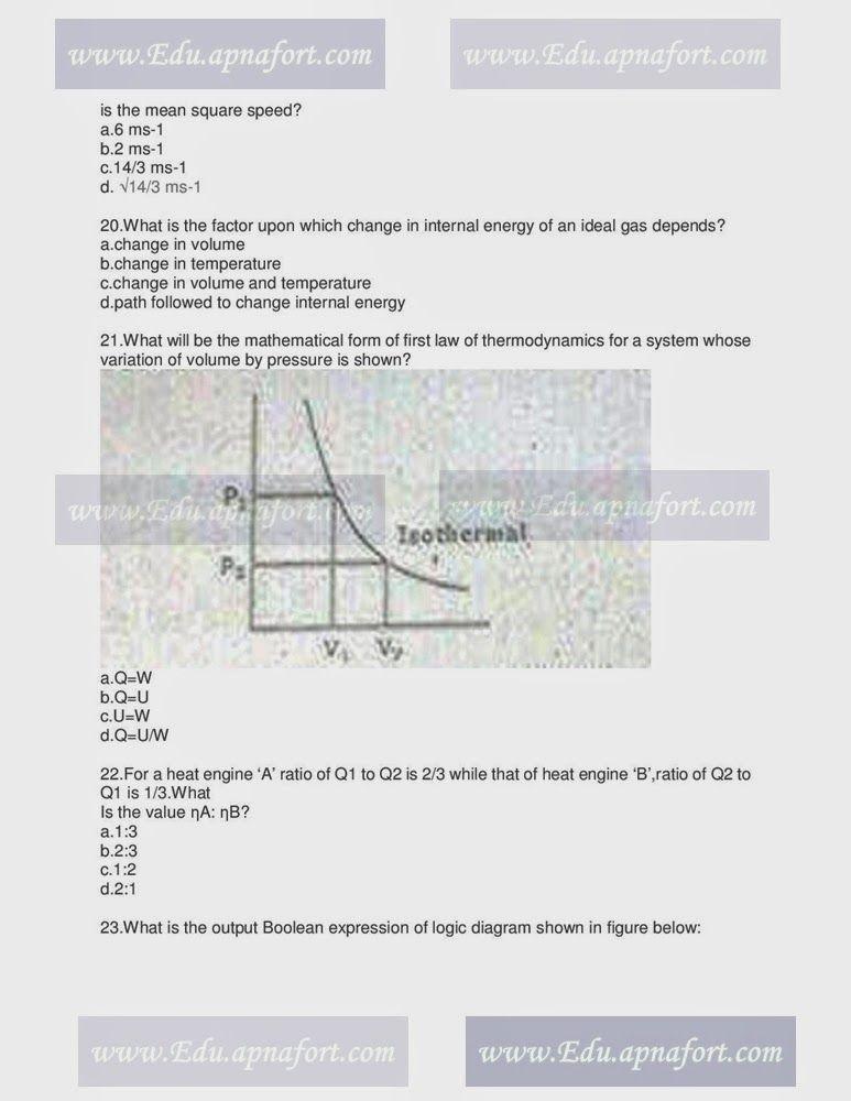 MCAT Past paper 2013 Physics Portion - Educational Blog