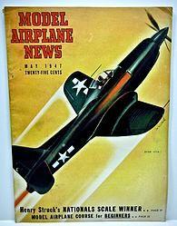 Model Airplane News May 1947