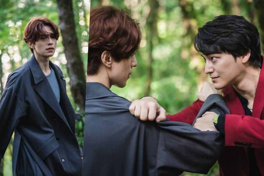 "Lee Dong Wook And Kim Bum Engage In A Heated Duel In ""Tale Of The Nine-Tailed"""