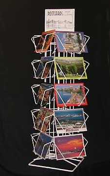 Postcard Racks Countertop Card Rack Display Greeting For Postcards Merchandise 20 Pocket Counter