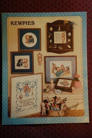 Kewpies Cross Stitch Booklet From Craftways Kewpie Cross Stitch