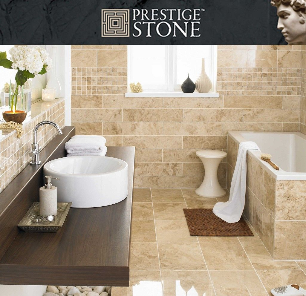 Brown Floor Tiles And A Light Shade Of Beige On The Walls Looks Lovely In This Ensuite Ensuite Tiling Ideas Brown Tile Floor Dark Brown Floor Brown Floors