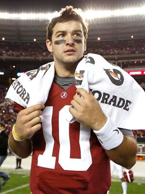University football player