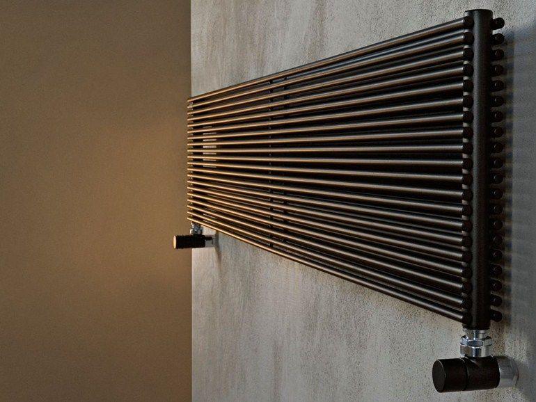 Termoarredo Orizzontale A Parete Color X Co10d Collezione Basics By Tubes Radiatori Termosifoni Moderni Parete Arredamento